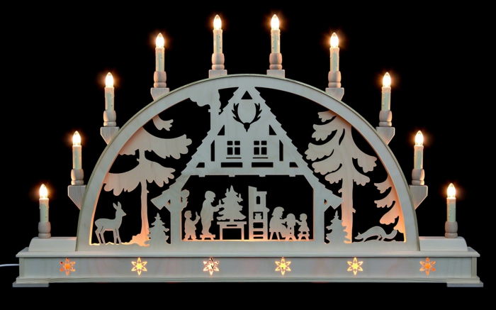 schwibbögen und lichterbögen weihnachten geschenkideen