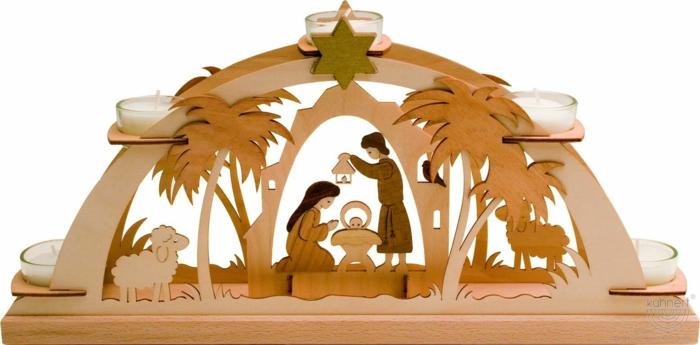 schwibbögen und lichterbögen weihnachten symbole