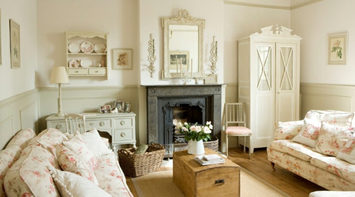 French Shabby Chic Living Room Pictures - Home Design - Mannahatta.Us