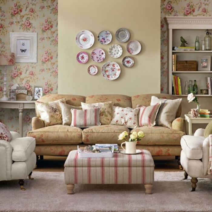 wohnzimmer ideen vintage ~ ideen für die innenarchitektur ihres hauses - Wohnzimmer Ideen Vintage