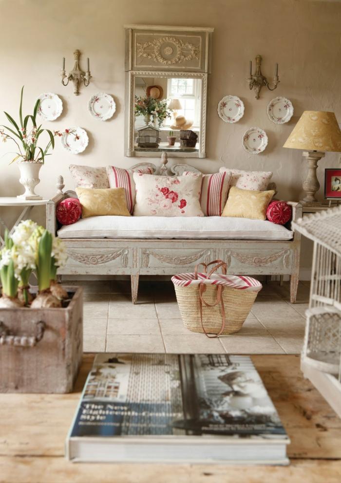 shabby chic wohnzimmermobel raum und m beldesign inspiration. Black Bedroom Furniture Sets. Home Design Ideas