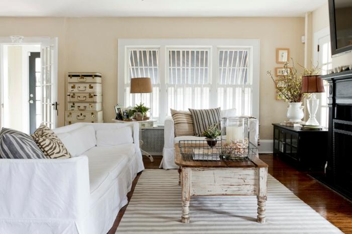 Wohnzimmer Ideen Vintage | Möbelideen