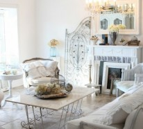 66 Shabby Chic Wohnzimmer Ideen – Altes und Neues bei der Wohnzimmergestaltung verbinden
