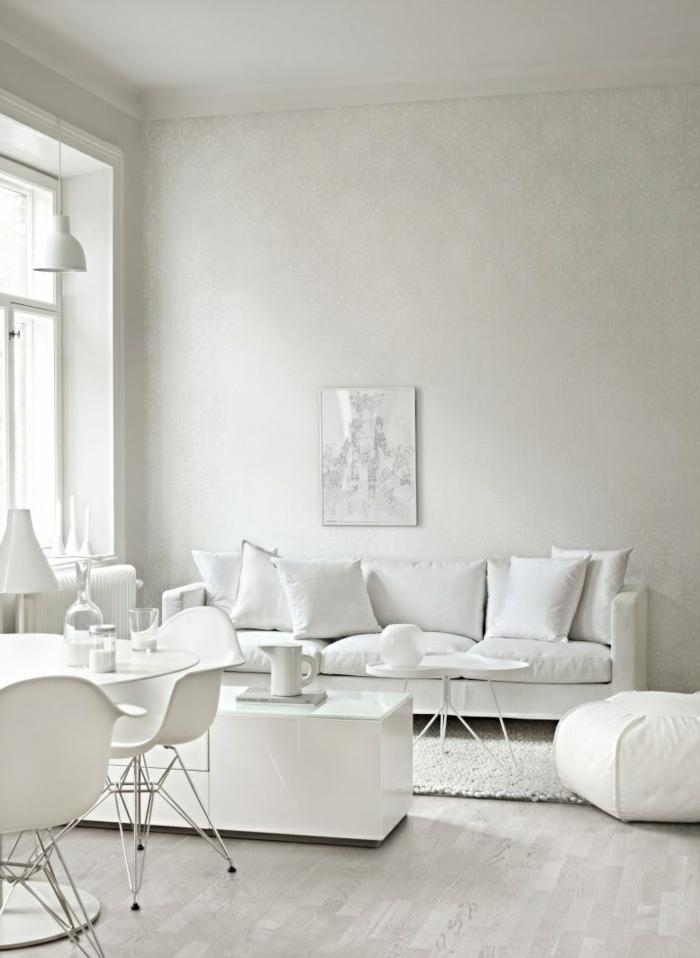 Sofa Kaufen Skandinavisch Weiß Weißes Wohnzimmer Einrichten Ideen