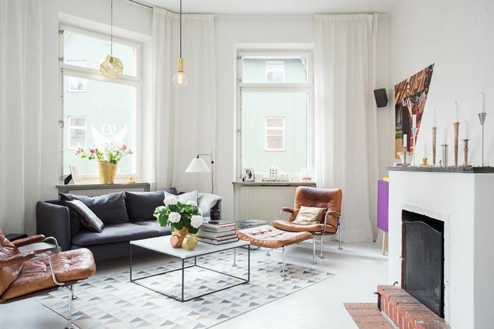 sofa kaufen skandinavisches design wohnzimmer einricten