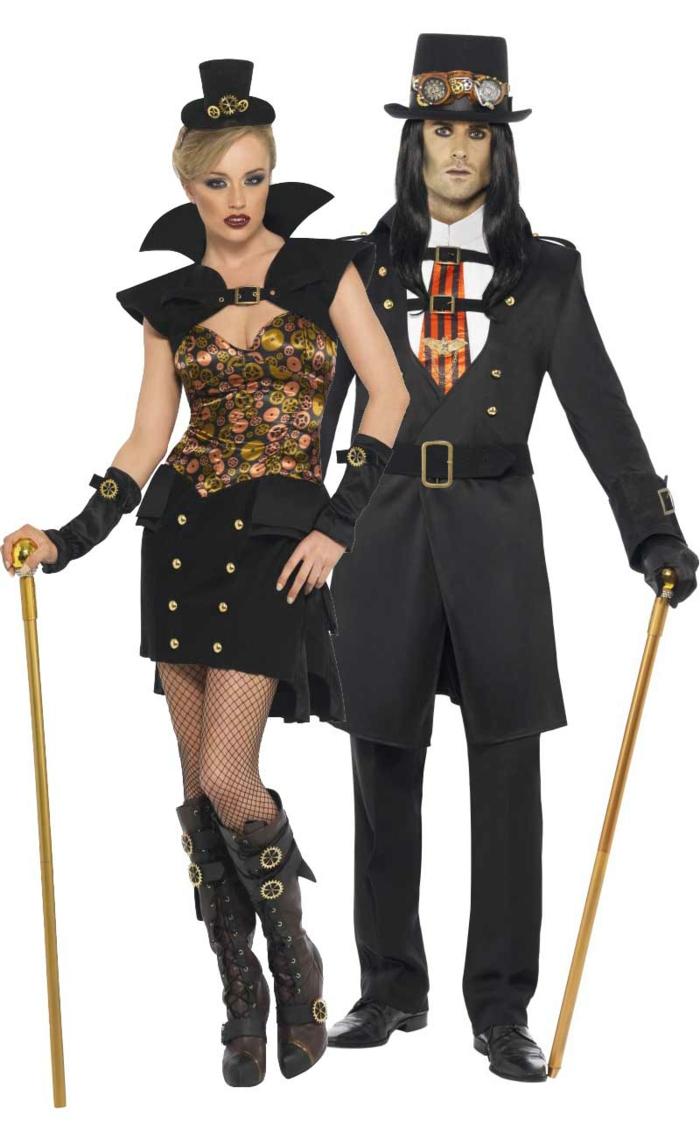 steampunk kleidung damen herren mode viktorianisch