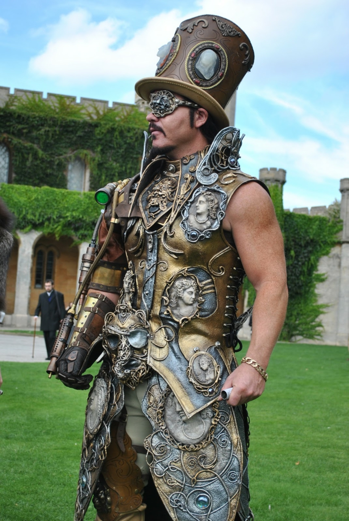 steampunk mode herren fashion
