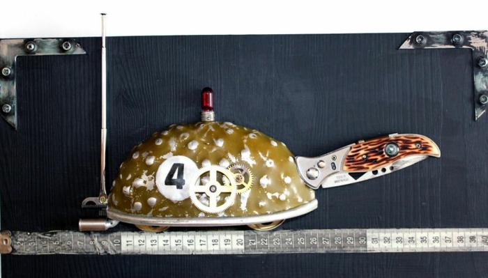 steampunk kunst schildkröte
