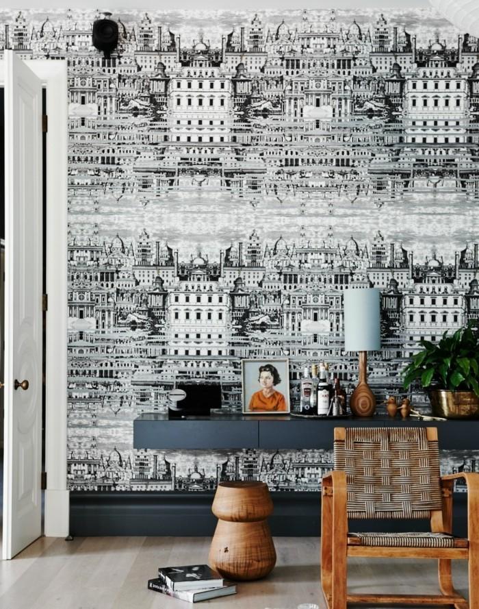 Tapeten Ideen Ausgefallene Ideen Für Das Wanddesign 71 Wohnzimmer Tapeten  Ideen, Wie Sie Die Wohnzimmerwände Beleben ...