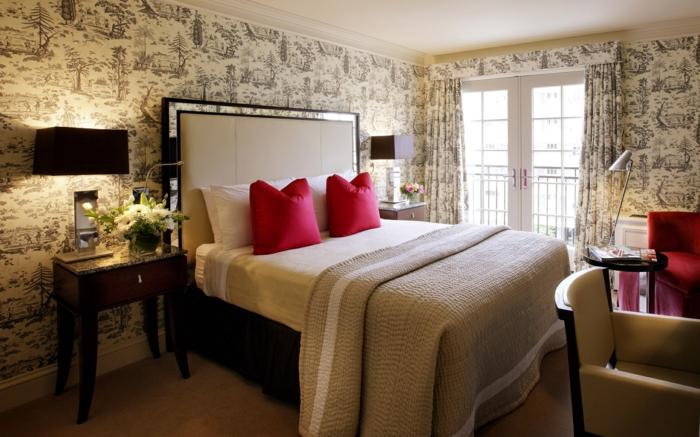 Schlafzimmer Gestalten Tapeten Gestalten Sie Ihr Schlafzimmer ...