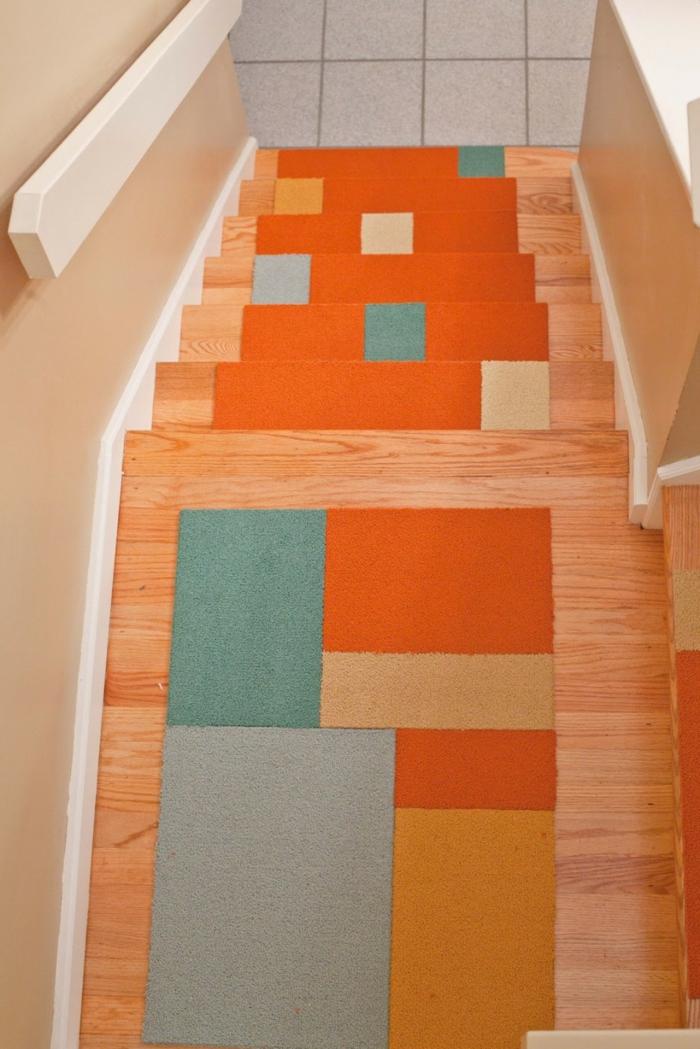teppich für treppen frisches muster