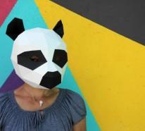 Tiermasken basteln: Das ist ein Kinderspiel mit den Vorlagen von Steve Wintercroft