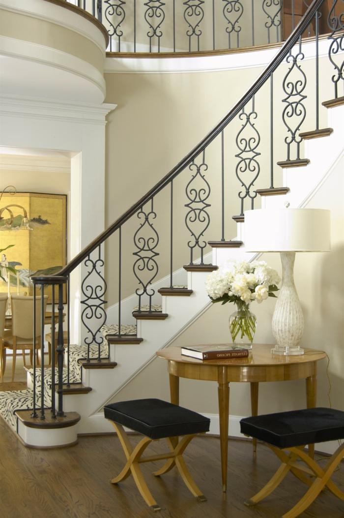 Treppen Verschönern schicke treppengeländer verschönern das moderne treppenhaus