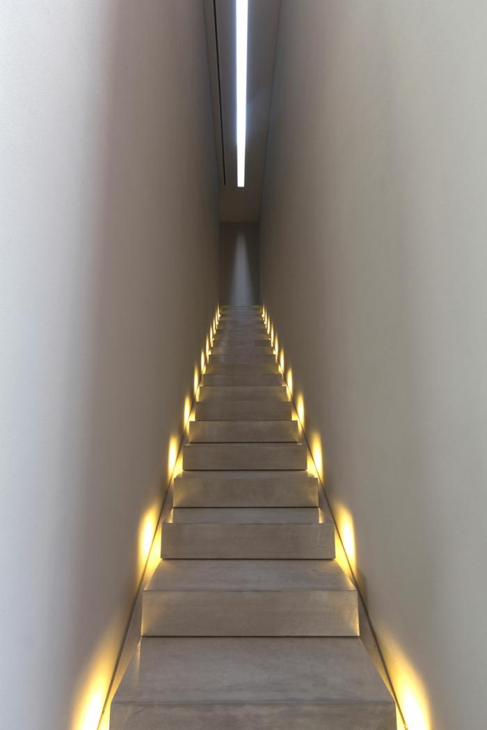 Treppenhaus Beleuchtung beleuchtung treppenhaus lässt die treppe unglaublich schön erscheinen