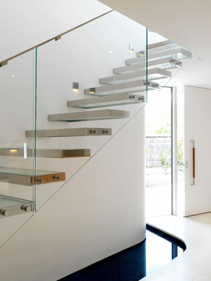 Schicke Treppengel 228 Nder Versch 246 Nern Das Moderne Treppenhaus
