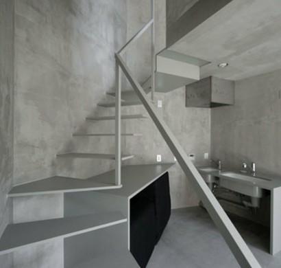 Treppenhaus gestalten mit tapete  Treppenhaus gestalten - praktische und ästhetische Tipps
