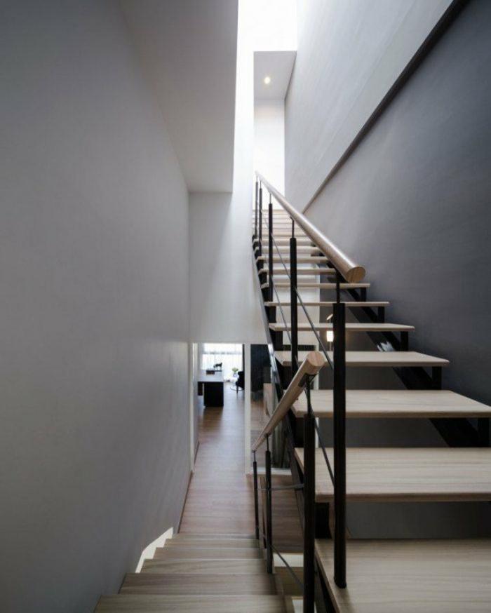 Treppenhaus gestalten beispiele  Treppenhaus gestalten - praktische und ästhetische Tipps