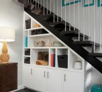 Schrank Unter Treppe Und Andere Losungen Wie Sie Fur Mehr Stauraum