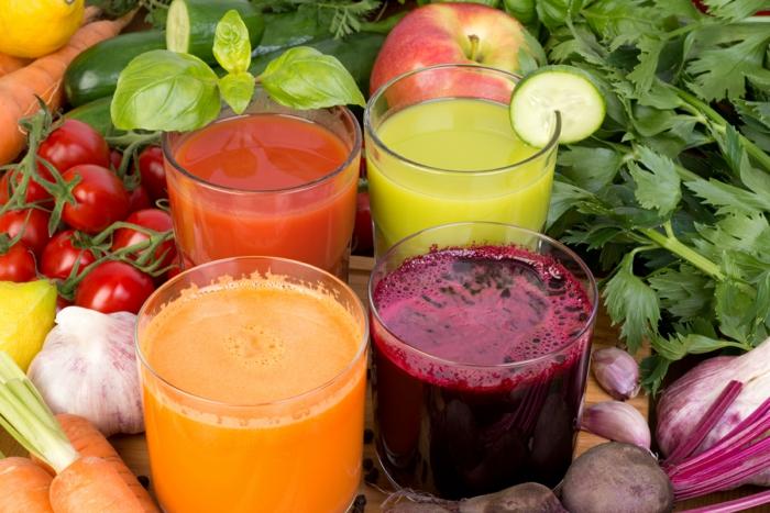 veganes essen frisch gepresste säfte obst gemüse