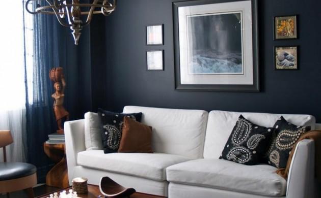 wanddeko moderne designs fraben und muster freshideen 1. Black Bedroom Furniture Sets. Home Design Ideas