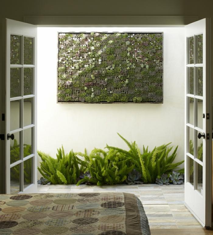 w nde gestalten mit vertikalen mini g rten aus sukkulenten. Black Bedroom Furniture Sets. Home Design Ideas