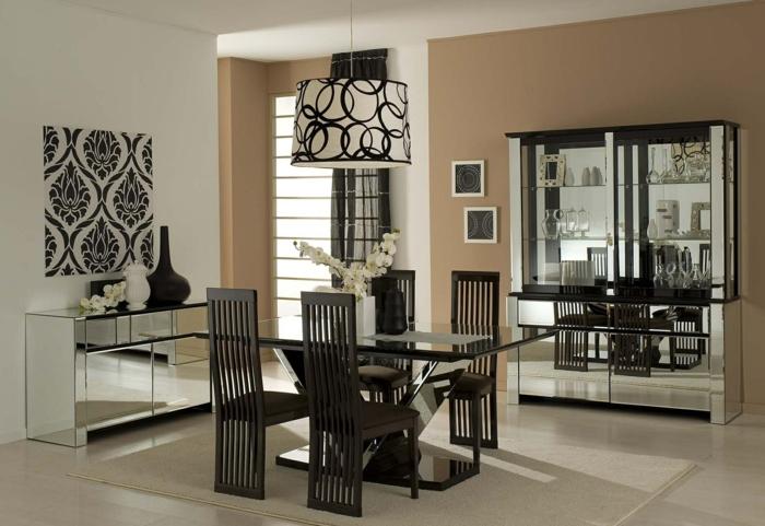 Wandgestaltung esszimmer ideen  Wandgestaltung Esszimmer - Inspirierende Ideen, wie Sie die ...