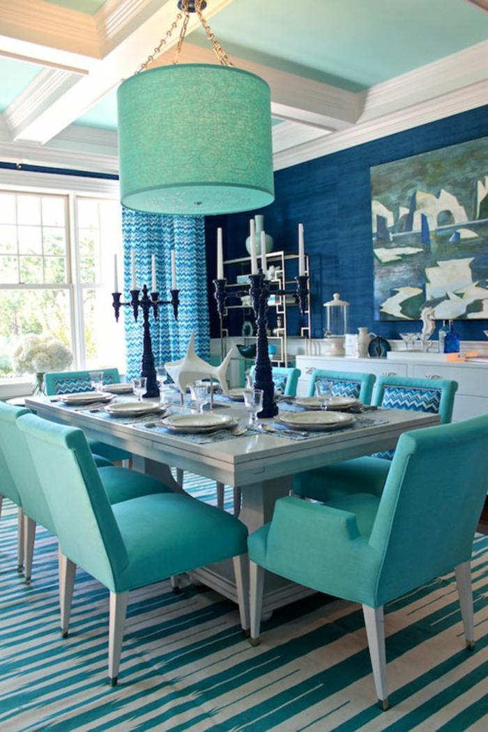 wandgestaltung esszimmer inspirierende ideen wie sie die esszimmerw nde zur geltung bringen. Black Bedroom Furniture Sets. Home Design Ideas