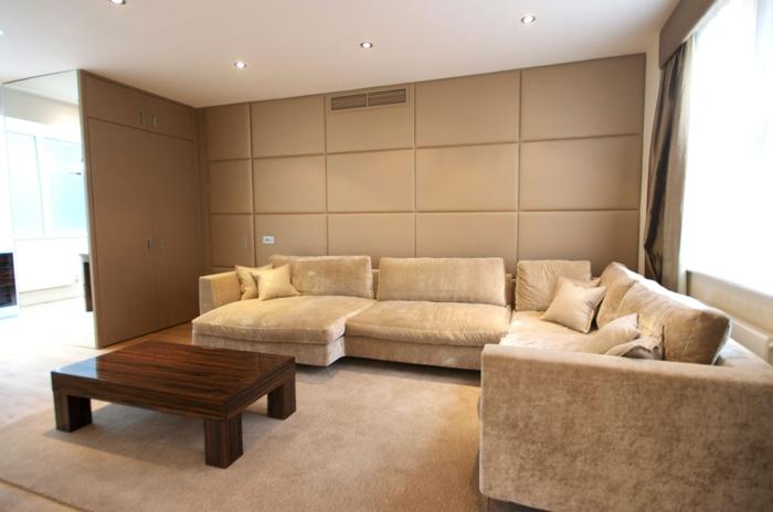 Wandpaneele eine trendige tendenz bei der wandgestaltung - Paneele wohnzimmer ...