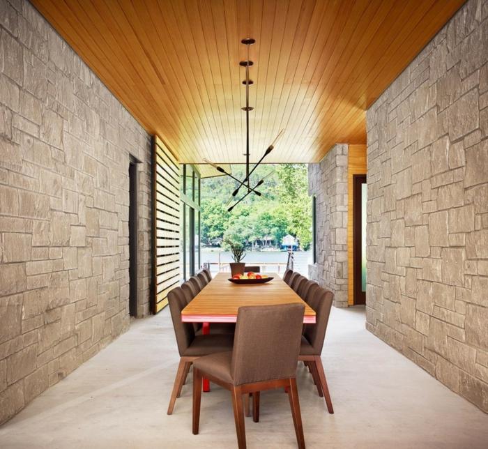 wandgestaltung esszimmer - inspirierende ideen, wie sie die, Wohnzimmer dekoo