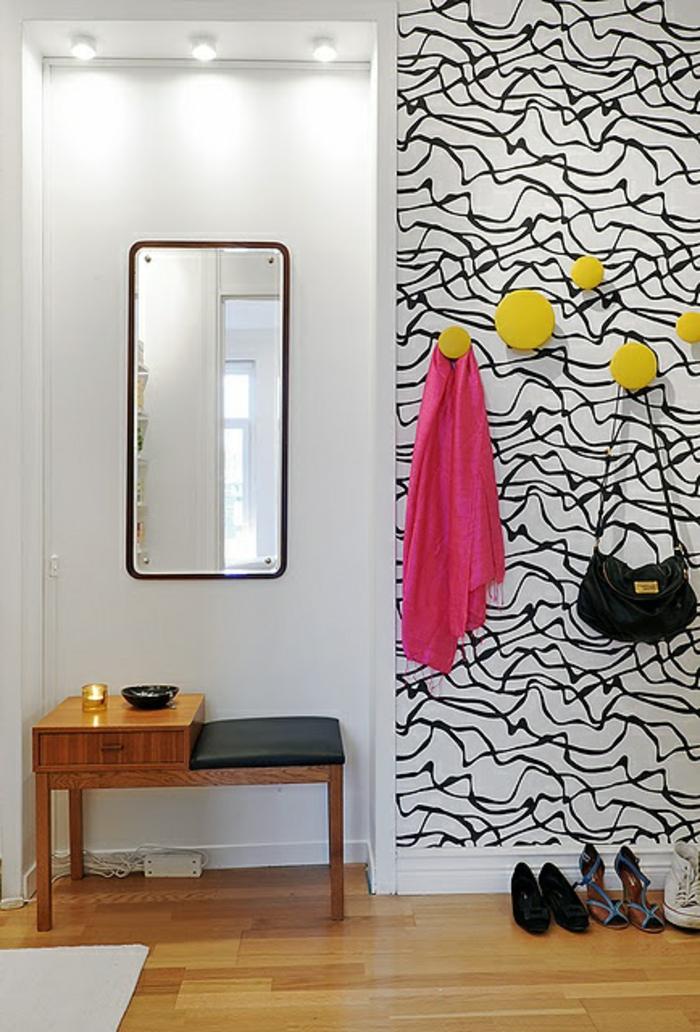 25 tapeten ideen wie man die w nde zu hause gestaltet. Black Bedroom Furniture Sets. Home Design Ideas