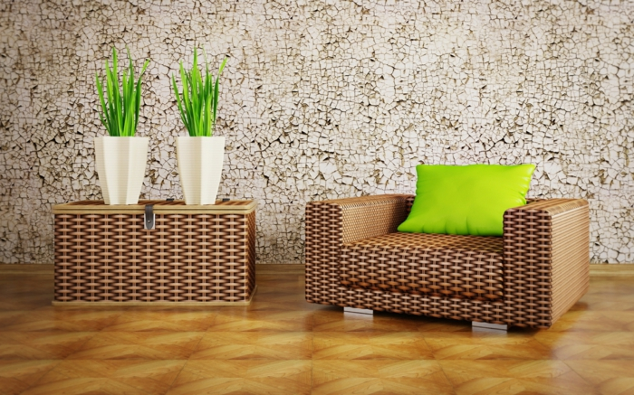 Sch?ne Tapeten Esszimmer : Dem Esszimmer durch eine sch?ne Wandtapete Charme vermitteln