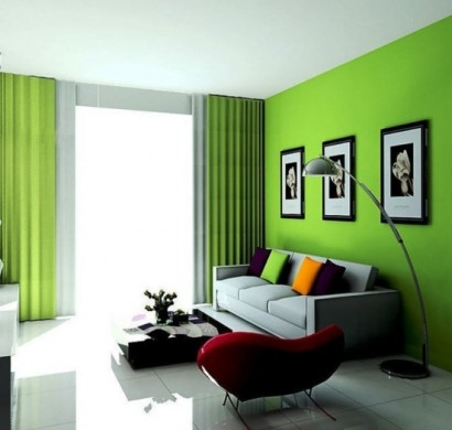 Schon Wohnidee Fürs Wohnzimmer U2013 Richten Sie Ihr Wohnzimmer In Grün Ein