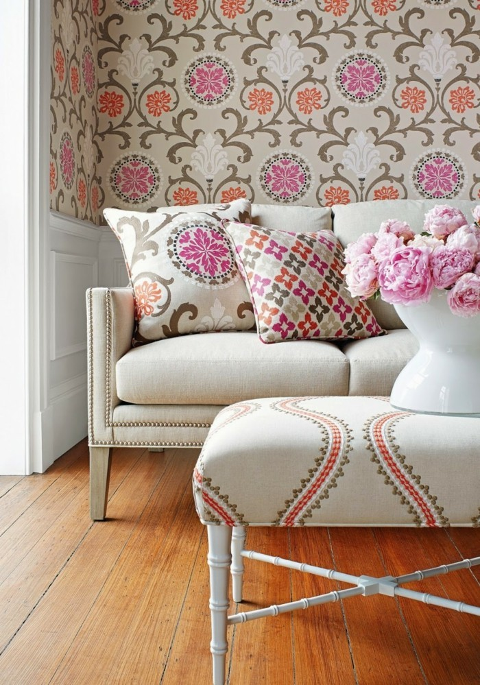 71 Wohnzimmer Tapeten Ideen Wie Sie Die Wohnzimmerw Nde Beleben