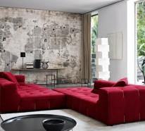 71 Wohnzimmer Tapeten Ideen, Wie Sie Die Wohnzimmerwände Beleben