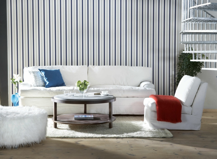Tapeten Idee Wohnzimmer Die Besten 25 Tapeten Wohnzimmer Ideen Auf  Pinterest Tapeten