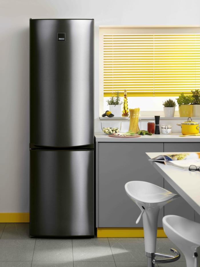 zanussi küchenmöbel moderne und große kühlschränke