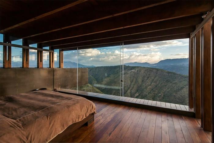 zimmer dekorieren ausblick schlafzimmer ecuador