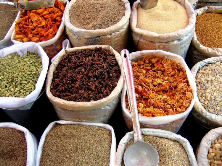 5 typische indische Gewürze Liste Markt