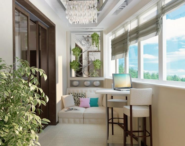 Balkon gestalten gemütliches Ambiente Balkon Ideen