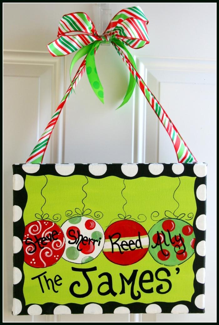 Bastelideen für Weihnachten persönliche Geschenke DIY Deko Ideen