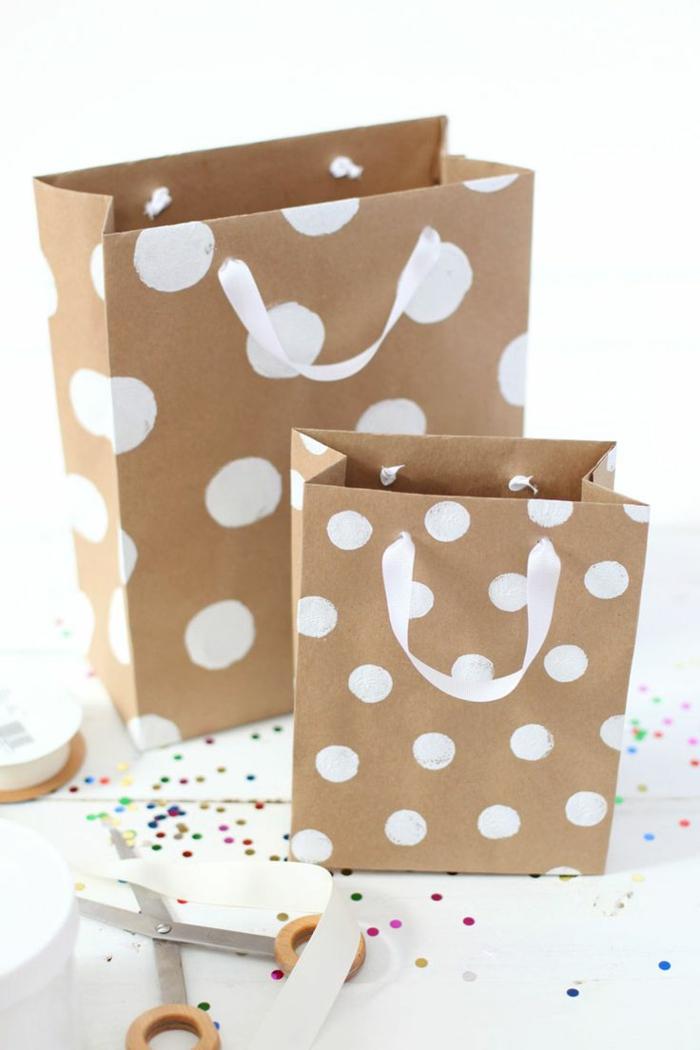 Bastelideen für Weihnachten persönliche Geschenke DIY Deko Verpackung