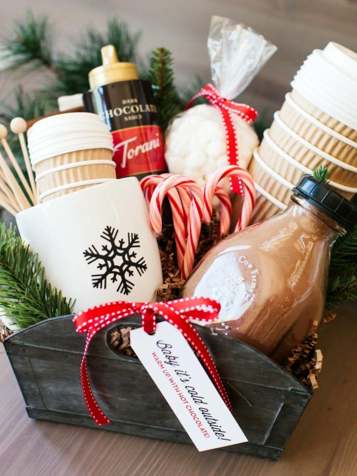 Basteln Weihnachten persönliche Geschenke selber machen