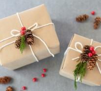 Weihnachtsgeschenke selber basteln– 40 Ideen für persönliche Geschenke