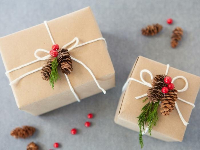 Basteln für Weihnachten persönliche Geschenke selber machen