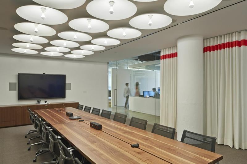 Beleuchtung am Arbeitsplatz büro deckenleuchten konferenzsaal