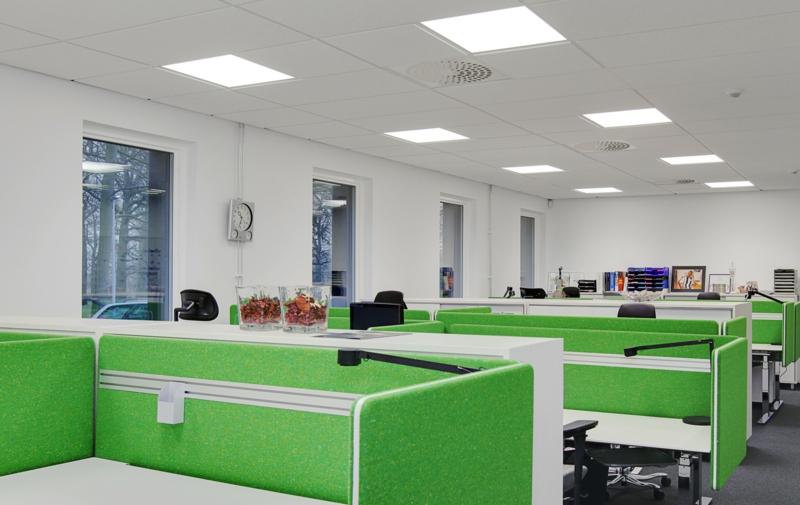 Beleuchtung am Arbeitsplatz büroeinrichtung bürolampen