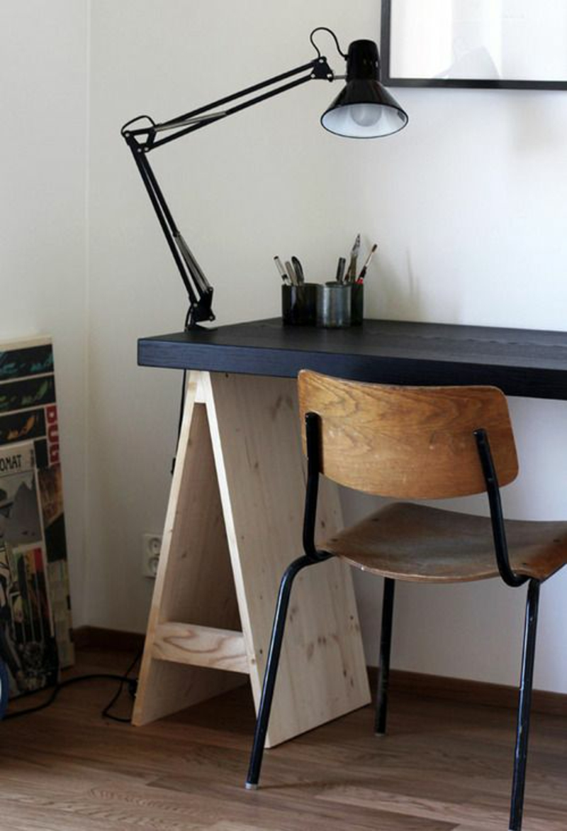 Beleuchtung am Arbeitsplatz home office bürolampe stehlampe