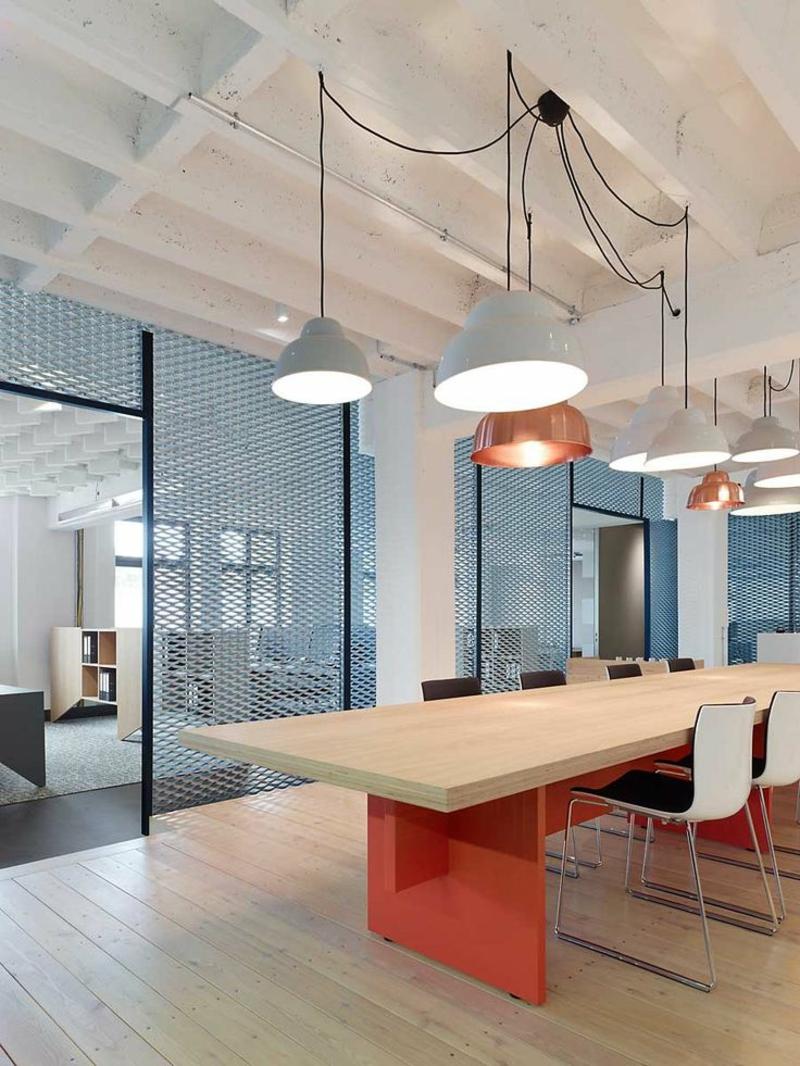 Beleuchtung am Arbeitsplatz led büroleuchten Pendellleuchten