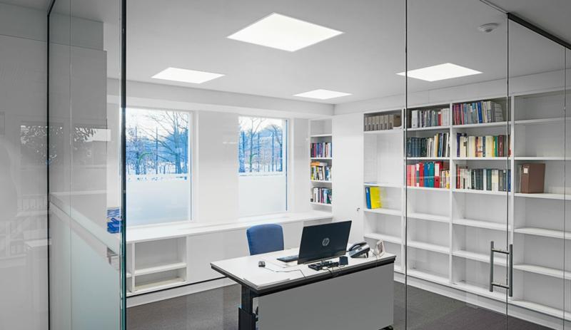 Beleuchtung am Arbeitsplatz led büroleuchten Schreibtischlampen