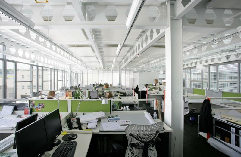 Beleuchtung am Arbeitsplatz led büroleuchten